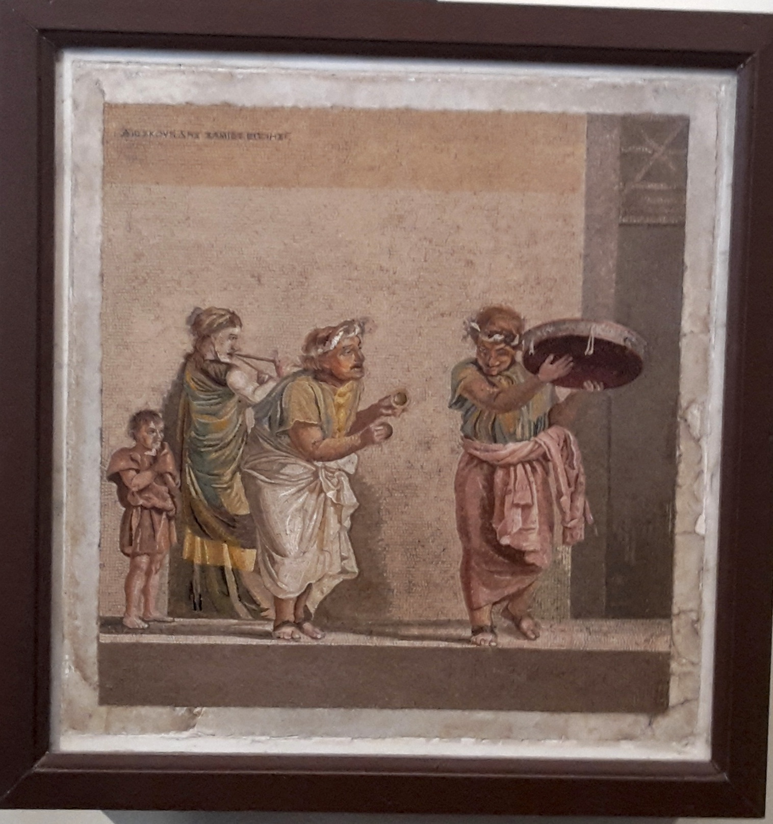 Mosaico casa di Cicerone