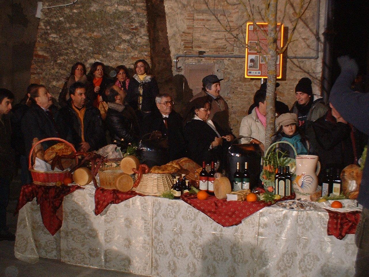 I prodotti tipici della Collina Materana a San Mauro Forte
