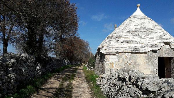 Sopralluogo ed escursione dal Barsento ad Alberobello