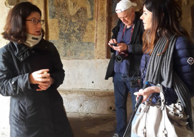 educational tour in the Terra delle Gravine with journalists and bloggers from UK