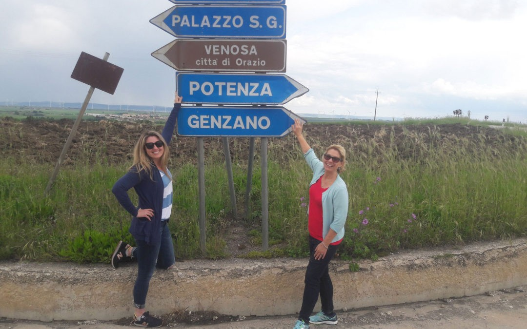 Michelle ed Elisa alla scoperta delle loro origini lucane
