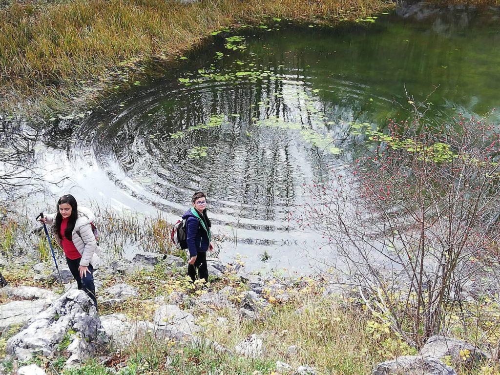 Lago Fondo, nel Parco del Pollino
