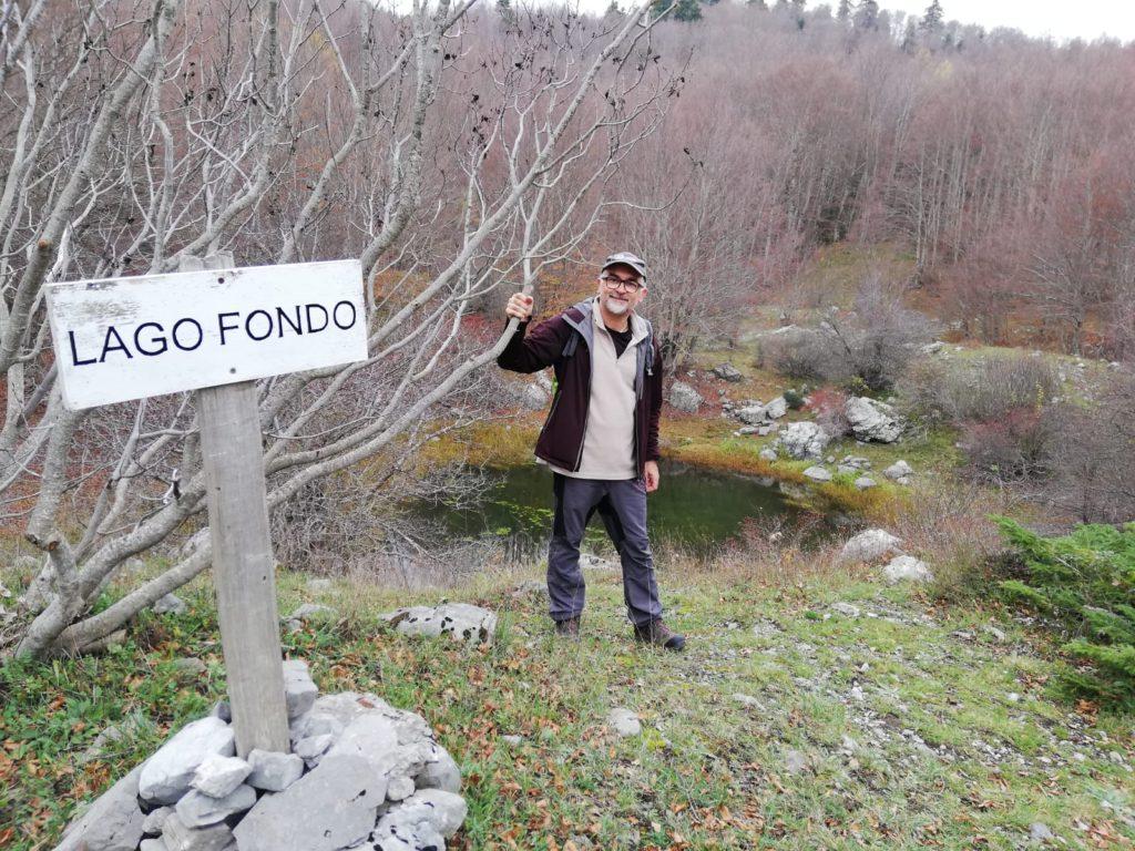 Nei pressi di Lago Fondo, nel Parco del Pollino