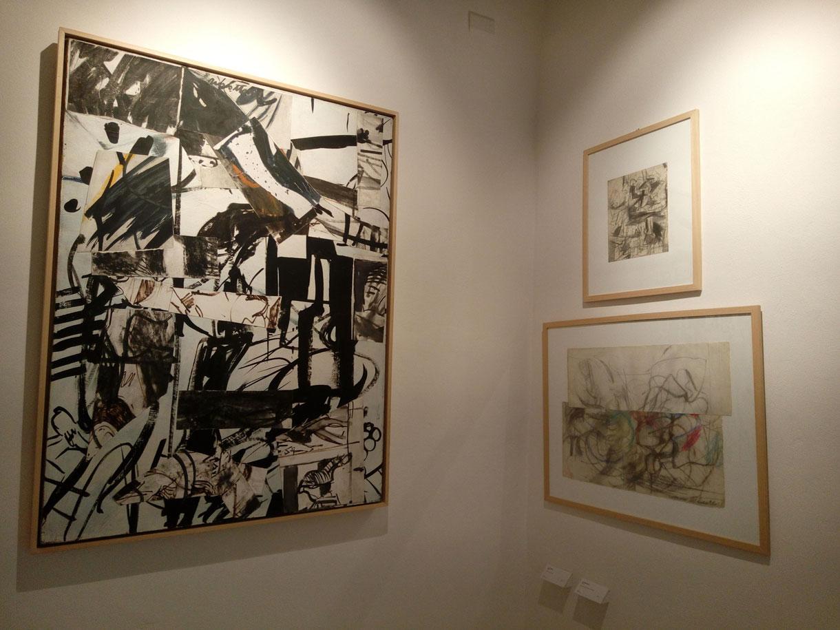Alcune opere di Paul Russotto esposte nel suo museo ad Aliano