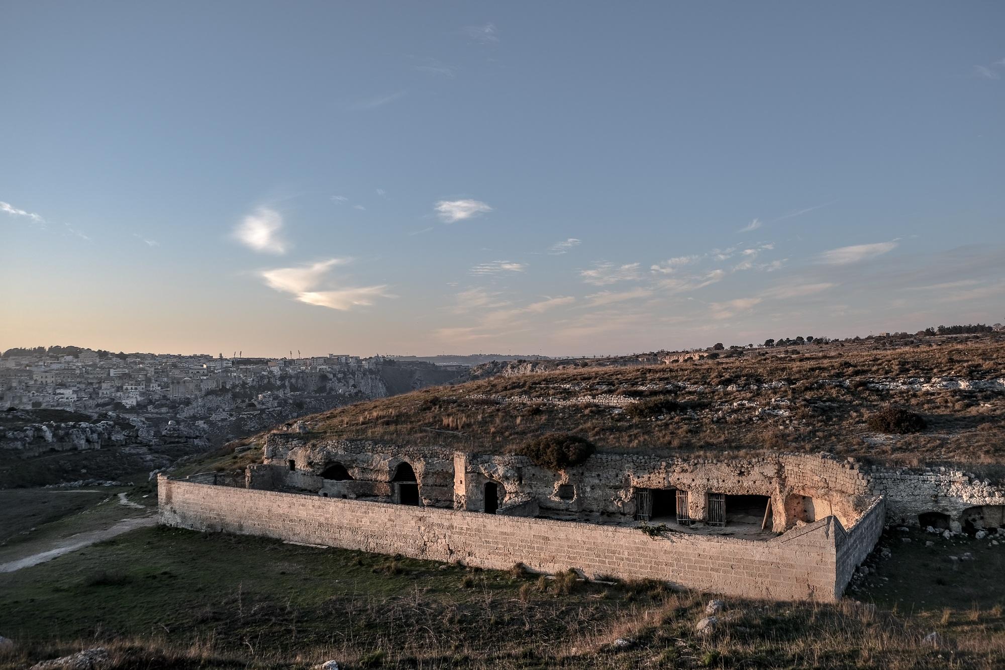 Rupestrian site of San Falcione, Matera