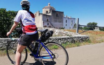 Avanscoperta in Puglia pedalando con Cristina e Antonio